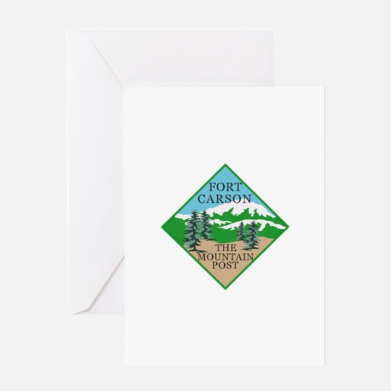 Fort Carson Greeting Card