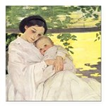 Mother's Day Square Car Magnet 3