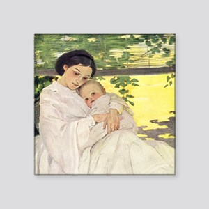 """Mother's Day Square Sticker 3"""" x 3"""""""