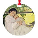 Mother's Day Round Ornament