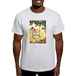 Girl on a Swing Light T-Shirt