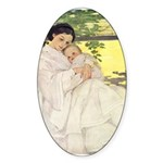 Mother's Day Sticker (Oval 50 pk)