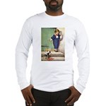 A Boy and His Puppy Long Sleeve T-Shirt