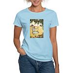 Girl on a Swing Women's Light T-Shirt