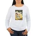 Girl on a Swing Women's Long Sleeve T-Shirt