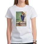 A Boy and His Puppy Women's T-Shirt