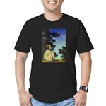 Wish Upon a Star Men's Fitted T-Shirt (dark)