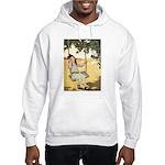 Girl on a Swing Hooded Sweatshirt