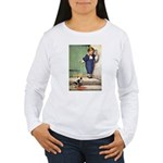 A Boy and His Puppy Women's Long Sleeve T-Shirt