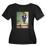 A Boy and His Puppy Women's Plus Size Scoop Neck D