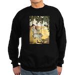 Girl on a Swing Sweatshirt (dark)