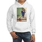 A Boy and His Puppy Hooded Sweatshirt