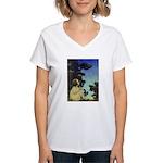 Wish Upon a Star Women's V-Neck T-Shirt