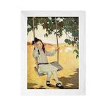 Girl on a Swing Twin Duvet