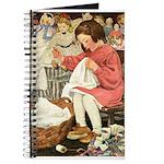 Little Girl Sewing Journal