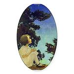 Wish Upon a Star Sticker (Oval 50 pk)
