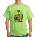 Children Saying Grace Green T-Shirt