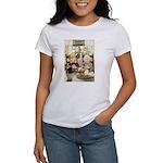 Children Saying Grace Women's T-Shirt