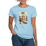 Children Saying Grace Women's Light T-Shirt