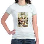 Children Saying Grace Jr. Ringer T-Shirt