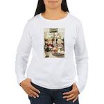 Children Saying Grace Women's Long Sleeve T-Shirt