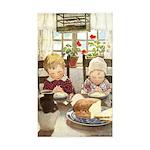 Children Saying Grace Sticker (Rectangle 50 pk)
