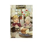 Children Saying Grace Rectangle Magnet (10 pack)