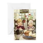 Children Saying Grace Greeting Cards (Pk of 10)