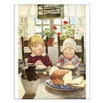 Children Saying Grace Small Poster
