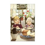 Children Saying Grace Mini Poster Print