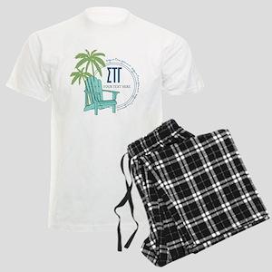 Sigma Tau Gamma Palm Chair Pajamas