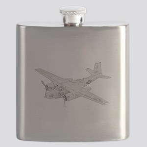 Douglas A-26 Invader -colored Flask