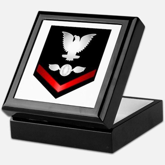 Navy PO3 Aviation Electrician's Mate Keepsake Box