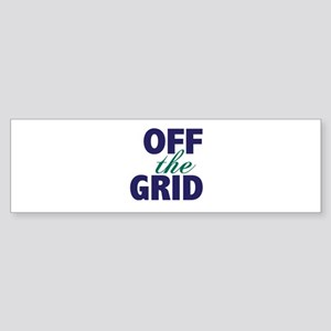 Off the Grid Sticker (Bumper)