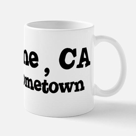 La Verne - hometown Mug
