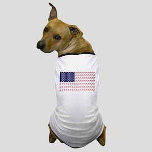 Patriotic BMX Bike Rider/USA Dog T-Shirt