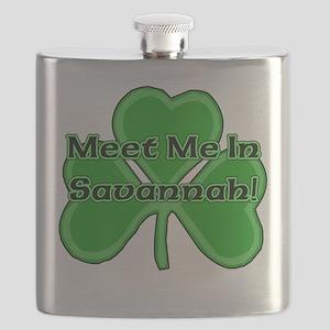 Meet Me In Savannah Flask