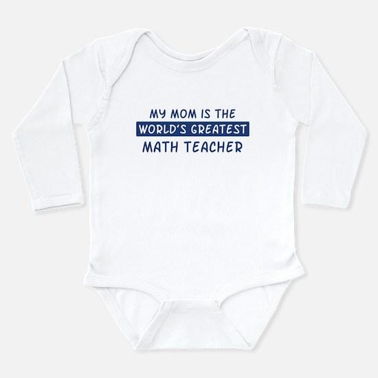 Math_Teacher Body Suit