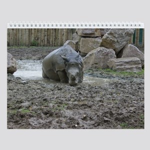 Zoo Animals Wall Calendar