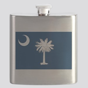 South Carolina State Flag Flask