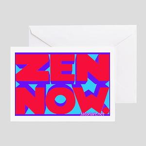 Zen Now. (rpb) Greeting Card