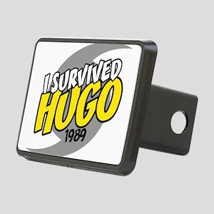 I Survived HUGO Rectangular Hitch Cover