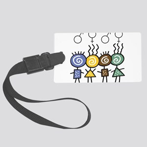 foursome Large Luggage Tag