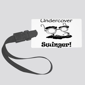 undercover-swinger Large Luggage Tag