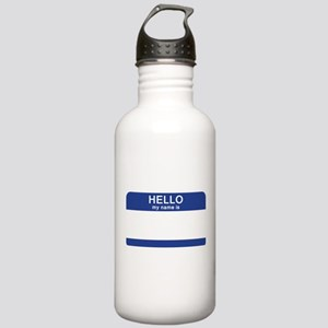 Hello my name is Blank Stainless Water Bottle 1.0L