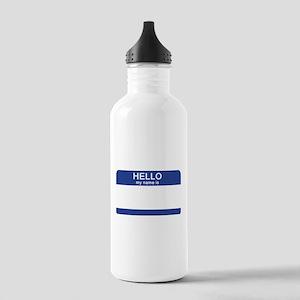 Fake Names Water Bottles - CafePress