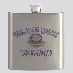 Welcome USS Reagan! Flask
