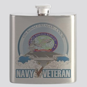 CVN-76 USS Reagan Flask