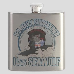 Navy Submariner SSN-21 Flask