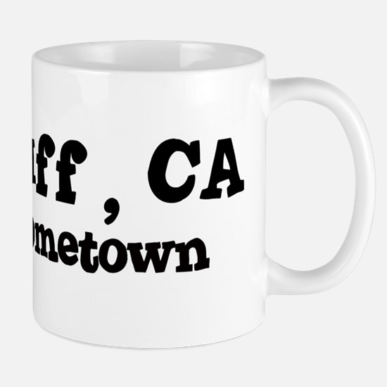 Red Bluff - hometown Mug